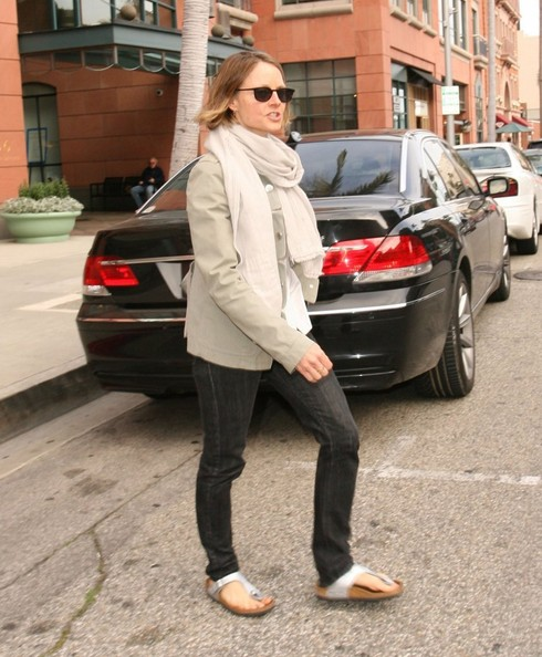 Jodie Foster Photos Photos Jodie Foster Out In Beverly