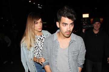 Joe Jonas Celebs Attend Levi's House Party