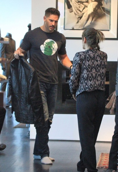 Joe Manganiello Shops For New Clothes - Zimbio