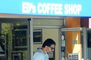 Joe Manganiello Stops for Coffee