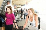 Joey and Hunter King Catch a Flight at LAX