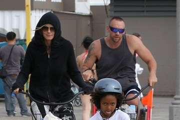 Johan Samuel Heidi Klum Spends the Day with Her Family