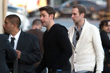 John Krasinski Stars Make An Appearance on 'Jimmy Kimmel Live!'
