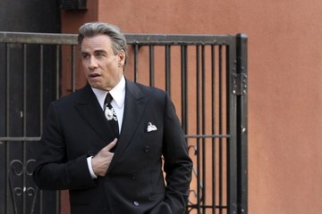 John Travolta John Travolta Fims 'The Life & Death of John Gotti' in Manhattan