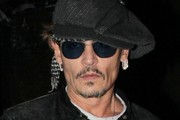 Johnny Depp Leaves Lady Gaga's Birthday Party at Gjelina