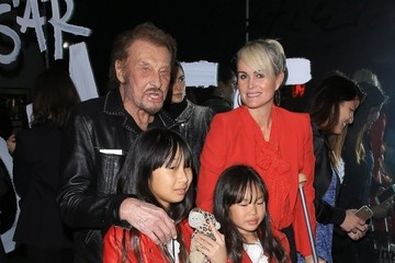 Johnny Hallyday Johnny and Laeticia Hallyday Go Out With Their Kids in LA