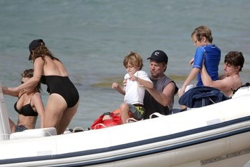 Dorothea Bongiovi Jon Bon Jovi And Family Enjoy Christmas On The Beach In St. Barts