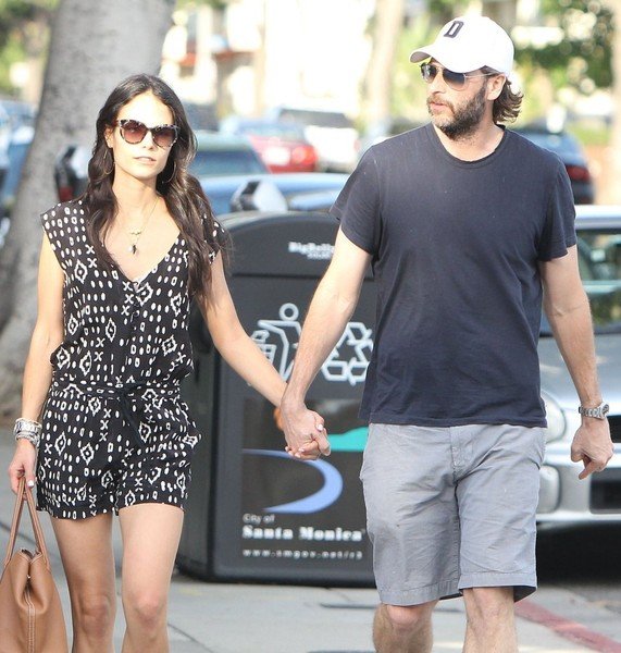 Happily married husband and wife: Andrew Form and Jordana Brewster