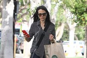 Jordana Brewster Picks up Some Groceries
