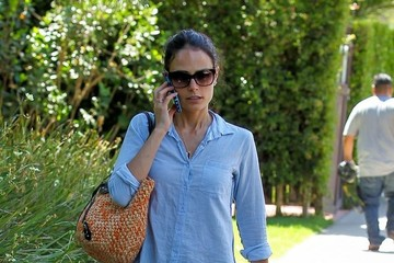 Jordana Brewster Jordana Brewster Lunches at Lemonade
