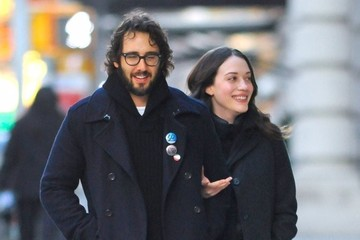 Josh Groban Kat Dennings & Josh Groban Out For A New Years Eve Stroll