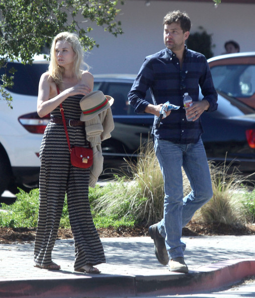 Joshua Jackson And Diane Kruger Out For Lunch In Malibu