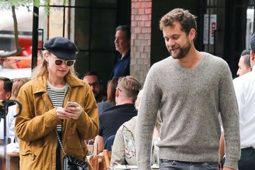 Joshua Jackson Diane Kruger and Joshua Jackson Go out Shopping in NYC