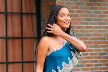 Joy Bryant Celebs Head to the Met Gala — Part 2