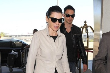 Julianna Margulies Julianna Margulies Travels with Her Emmy