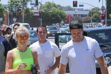 Julianne Hough Brooks Laich Julianne Hough, Her Fiance and Brother Go for a Jog in LA