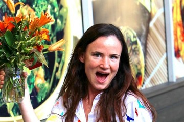 Juliette Lewis Juliette Lewis Buys Some Flowers in Hollywood