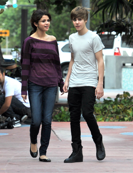 Justin Bieber Justin Bieber and rumored girlfriend Selena Gomez tried to go