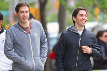 Christian Long Justin Long Takes A Stroll With His Bro Christian