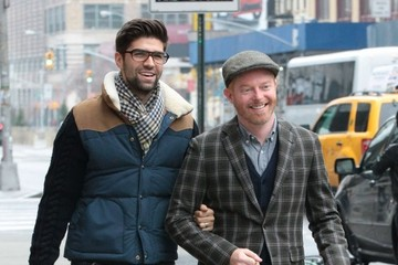 Justin Mikita Jesse Tyler Ferguson and Justin Mikita Out in NYC
