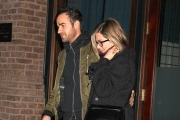 Justin Theroux Jennifer Aniston and Justin Theroux's Date Night