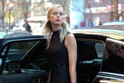Karolina Kurkova Leaving Her Hotel In New York City