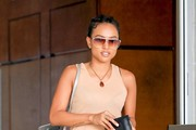 Karrueche Tran Runs Errands in Beverly Hills