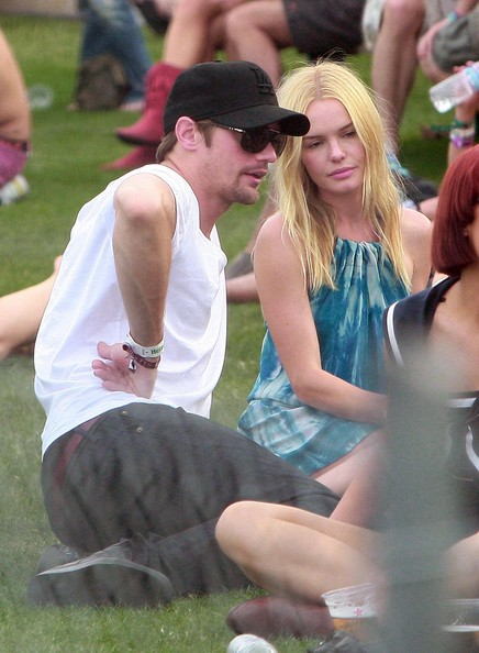 Kate Bosworth And Alexander Skarsgard At The Coachella Music Festival Day 2