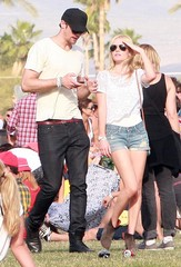 Kate Bosworth Alexander Skarsgard Kate Bosworth And Alexander Skarsgard At The Coachella Music Festival Day 3