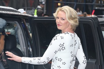 Katherine Heigl Celebrities Appear on 'Good Morning America' in NYC