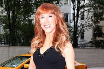 Kathy Griffin Kathy Griffin Poses in NYC