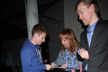 Kathy Griffin Celebrities Dine Out at Craig's Restaurant
