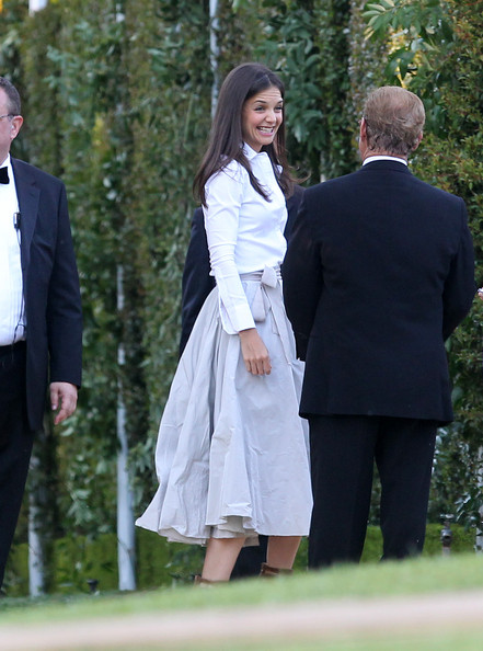 katie holmes wedding photos. Katie Holmes Tom Cruise and