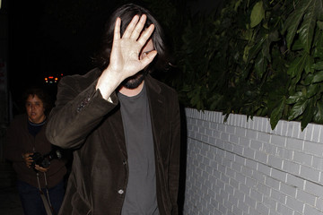 Keanu Reeves Keanu Reeves Outside Of The Chateau Marmont Hotel In West Hollywood