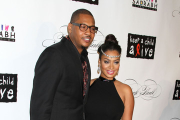 Carmelo Keep A Child Alive's 8th Annual Black Ball in New York City