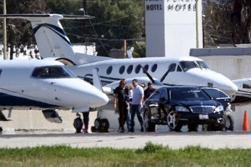 Keith Urban Sunday Rose Urban Keith Urban Catches a Private Flight