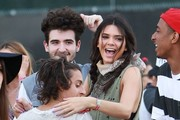 Kendall Jenner Gets Cornered At Coachella