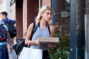 Kendall Jenner & Hailey Baldwin Enjoy Lunch In NYC