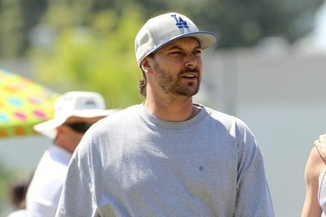 Kevin Federline Britney Spears and Kevin Federline Watch Their Sons' Soccer Game