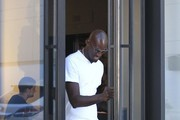 NBA player Kevin Garnett is seen shopping at Chanel in Beverly Hills, California on September 9 2016