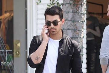 Kevin Jonas Joe and Kevin Jonas Hang With Friends in West Hollywood