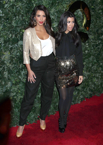 Kim Kardashian Celebrities attending the 2011 QVC Red Carpet Style Party at the Four Seasons Hotel in Beverly Hills, CA.
