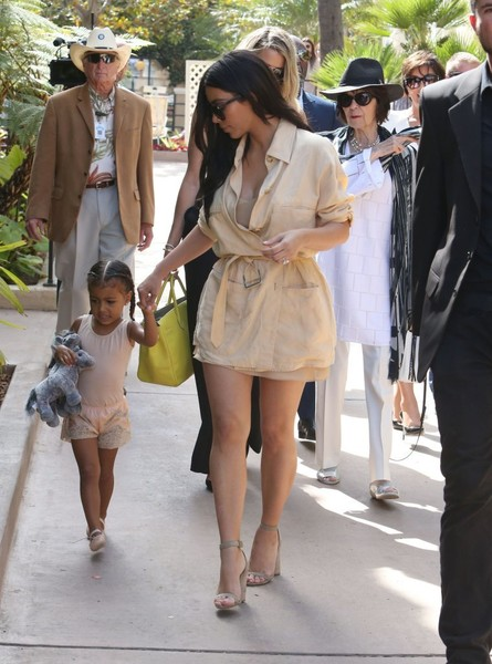 The Kardashian Family Enjoys a Day at the Del Mar Racetrack
