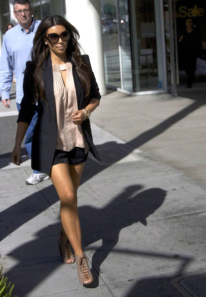 Kim Kardashian - Kim Kardashian Out For Lunch In Beverly Hills