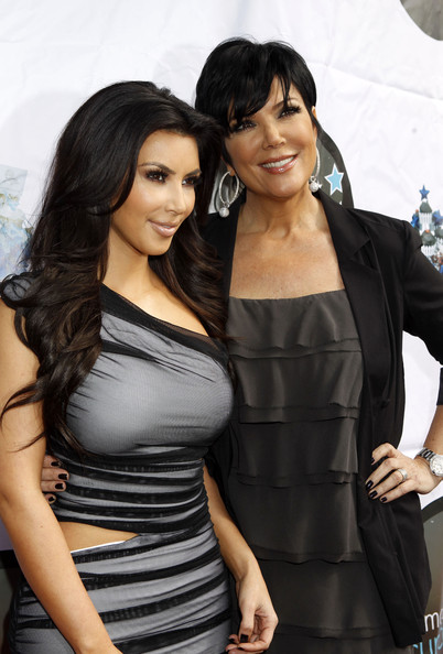 Kris Jenner Kim Kardashian and her mother Kris promote the launch of The Kim Kardashian Vanilla Cupcake Mix at The Famous Cupcakes store in Beverly Hills.