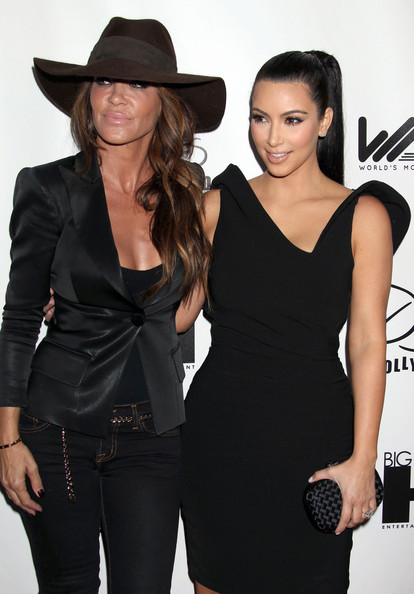Kim Kardashian Celebrities attending the World's Most Beautiful Magazine Launch Event at Drai's in Hollywood, CA.