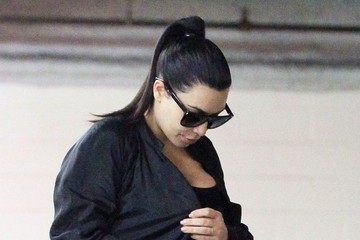 Kim Kardashian Pregnant Kim Kardashian Out and About in Santa Monica