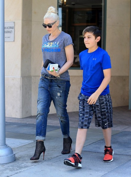 Gwen Stefani, Kingston Rossdale - Kingston Rossdale Photos ... гвен стефани