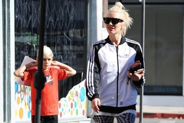 Kingston Rossdale Gwen Stefani Out With Her Boys In West Hollywood