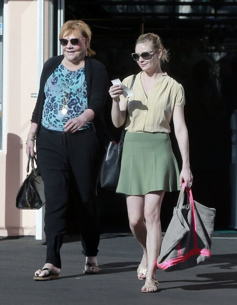 Photo of Kirsten Dunst & her Mother  Inez Rupprecht